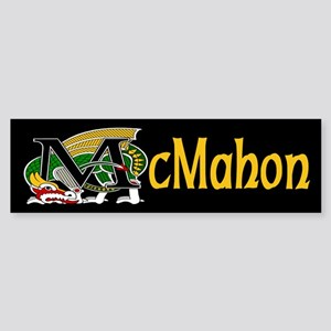 McMahon Celtic Dragon Bumper Sticker