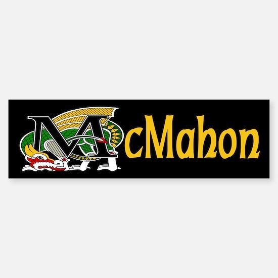 McMahon Celtic Dragon Bumper Bumper Bumper Sticker