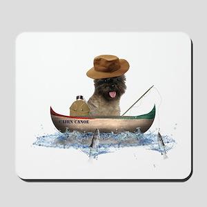 Cairn Terrier Fishing Mousepad