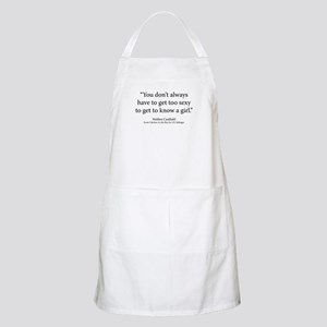 Catcher in the Rye Ch.11 Apron
