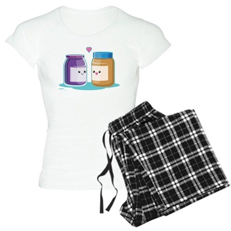 Peanut Butter and Jelly Women's Light Pajamas