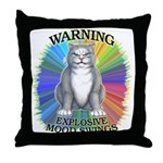 Explosive Mood Throw Pillow