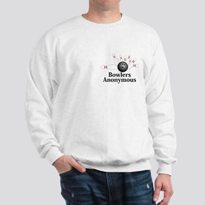 Bowlers Anonymous Logo 2 Sweatshirt Design Front P