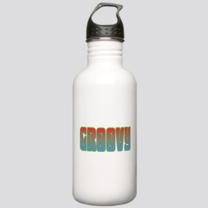 Groovy Stainless Water Bottle 1.0L