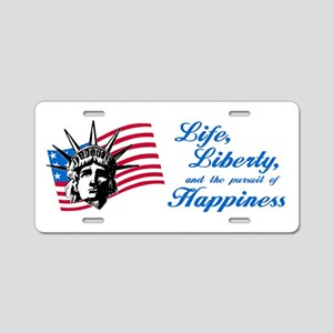 Pursuit of Happiness Aluminum License Plate