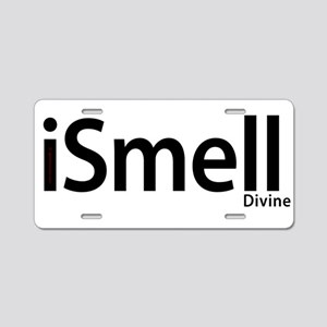 iSmell Aluminum License Plate
