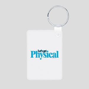 Physical Aluminum Photo Keychain