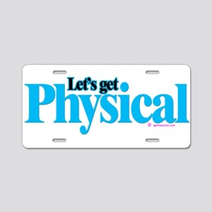 Physical Aluminum License Plate