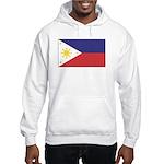 Philippine Flag Hooded Sweatshirt