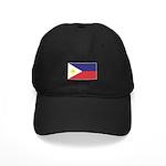 Philippine Flag Black Cap