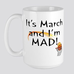 Mad about March   Large Mug