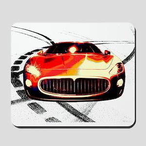 Maserati Style Mousepad