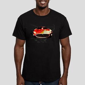 Maserati Style Men's Fitted T-Shirt (dark)