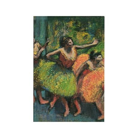 Edgar Degas Rectangle Magnet
