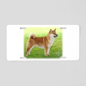 Shiba Inu 9R060D-078 Aluminum License Plate