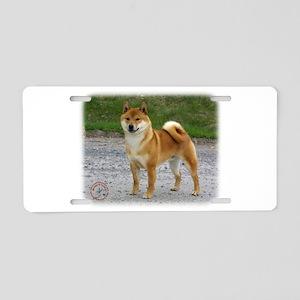 Shiba Inu 9T075D-026 Aluminum License Plate
