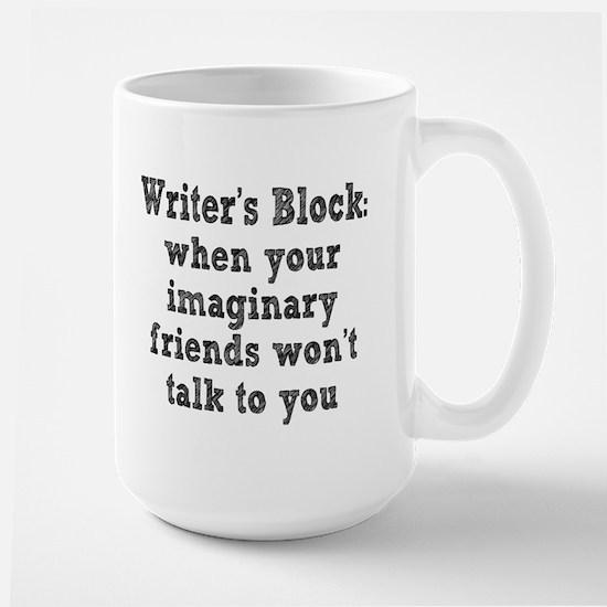 Writer's Block Large Mug