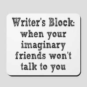 Writer's Block Mousepad
