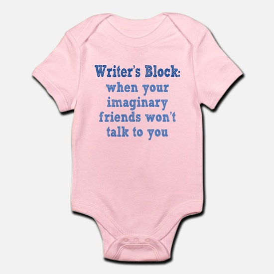 Writer's Block Infant Bodysuit