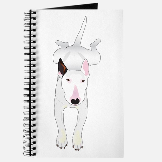 Cute Bull terrier Journal