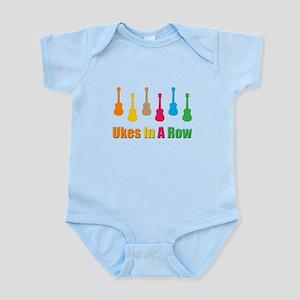 ukulele uke Infant Bodysuit