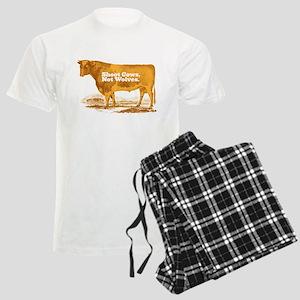 Shoot Cows Men's Light Pajamas