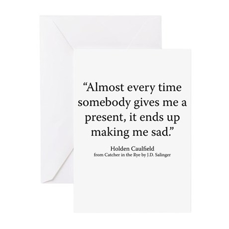 Catcher in the Rye Ch.7 Greeting Cards (Pk of 10)