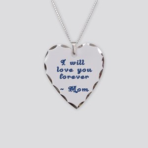Mother's Love Necklace Heart Charm