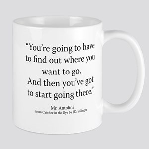 Catcher in the Rye Ch. 24 Mug