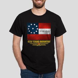 4th Texas Infantry Dark T-Shirt