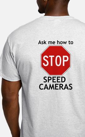Stop Speed Cameras Shirt T-Shirt