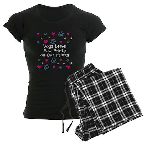Dogepress per notte Paw Dogs 513701411 donna Pigiama Leave Prints da 7qg07r