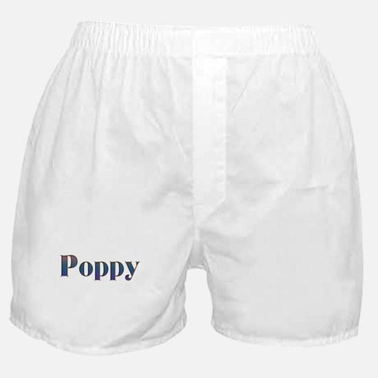 Poppy Boxer Shorts