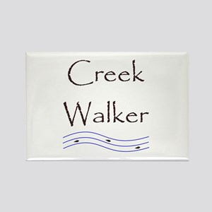 Creek Walker Rectangle Magnet