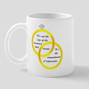 Dieamond Size Mug