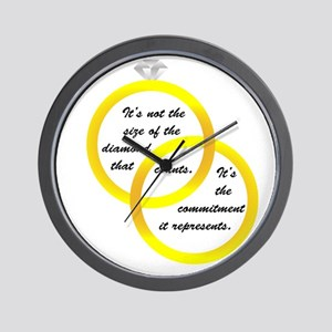 Dieamond Size Wall Clock