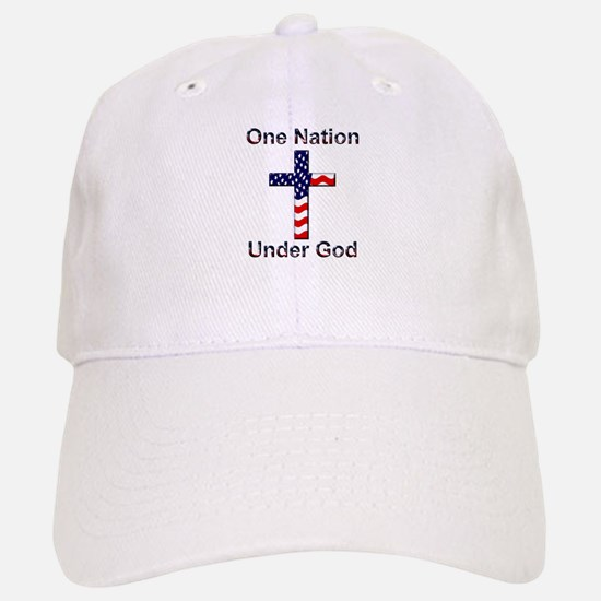 One Nation Under God Baseball Baseball Cap