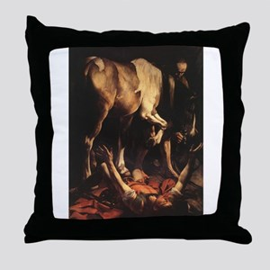 Conversion on the Way to Dama Throw Pillow