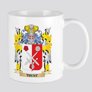 Trent Family Crest - Coat of Arms Mugs