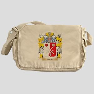 Trent Family Crest - Coat of Arms Messenger Bag