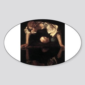 Narcissus Sticker (Oval)