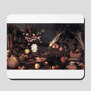 Still Life with Flowers and F Mousepad