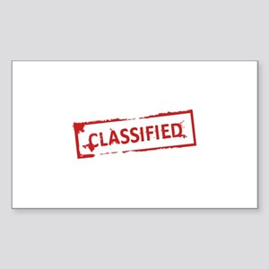 Classified Stamp Sticker