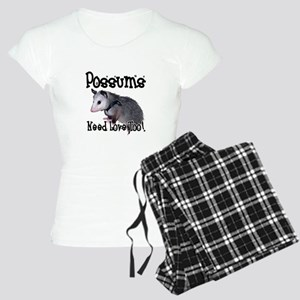 Possums Need Love Women's Light Pajamas