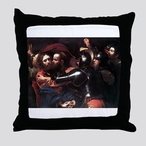 Taking of Christ Throw Pillow