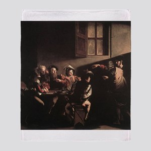 The Calling of Saint Matthew Throw Blanket