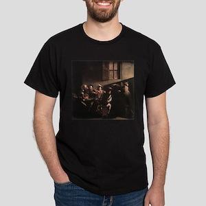 The Calling of Saint Matthew Dark T-Shirt