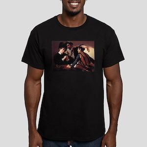 The Cardsharps Men's Fitted T-Shirt (dark)