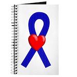Blue Ribbon Heart Journal