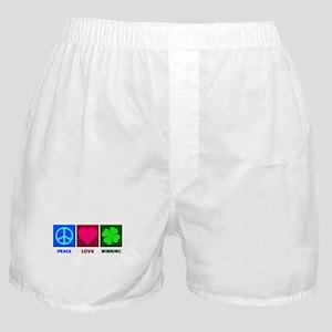 Peace Love Winning Boxer Shorts